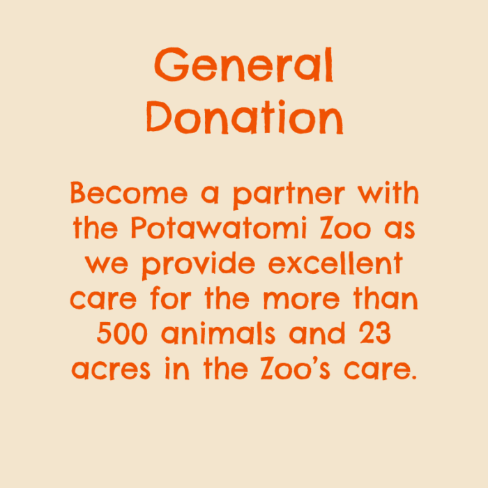 General Donation