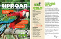 cover and inside of 2018 spring uproar